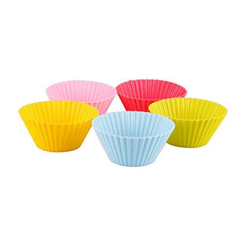 Random color Muffin Food Chocolate Bakeware DIY Cupcake Baking Cake Cutter Mold