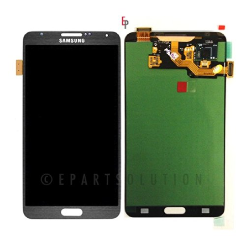 Epartsolution-Samsung Galaxy Note 3 Gray N900 N900V N900T Lcd Touch Screen Digitizer Assembly Replacement Part Usa Seller