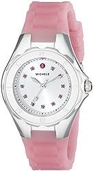 MICHELE Women's MWW12P000008 Jellybean Analog Display Analog Quartz Pink Watch