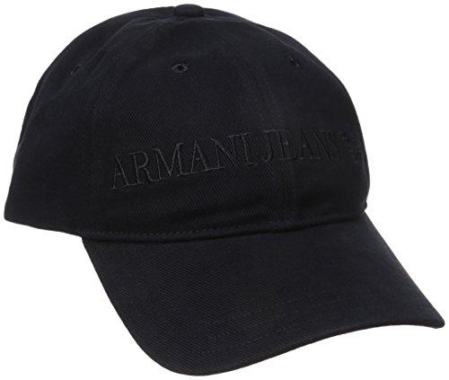 Armani Jeans Uomo Berretto da baseball Blu Unica Taglia