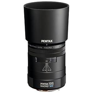 Pentax 100mm f/2.8 WR D FA smc Macro Lens for Pentax Digital SLR Cameras