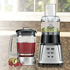 Cuisinart CB-600FPPC4 SmartPower Premier Duet Blender/Food Processor, Stainless Steel