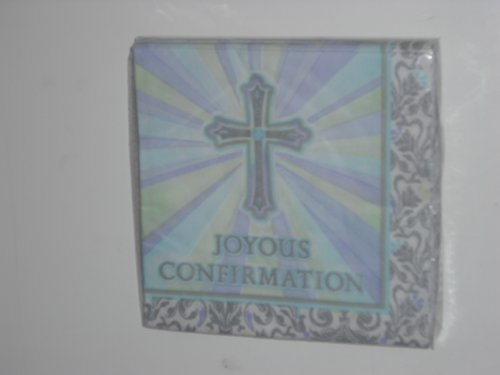 Confirmation Joyous Celebration Luncheon Napkins front-1013616