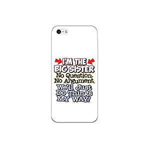 I phone SE nkt08 (14) Mobile Case by oker - I'am the Big Sister