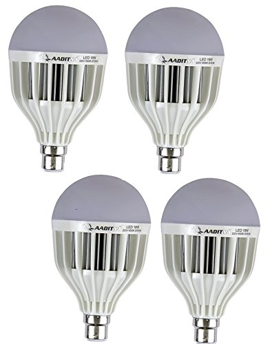 High Power 18W LED Bulb (Pack of 4)
