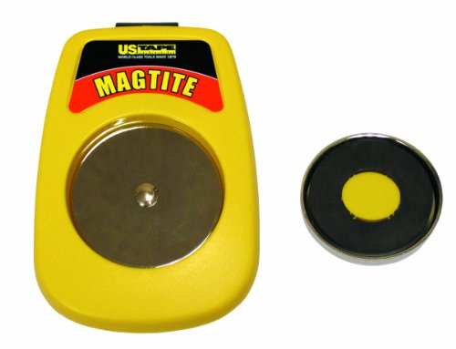 US Tape 59955 Magtite Magnetic Tape Measure Holster, Yellow