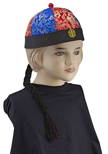 Forum Novelties Child's Chinese Hat with Braid