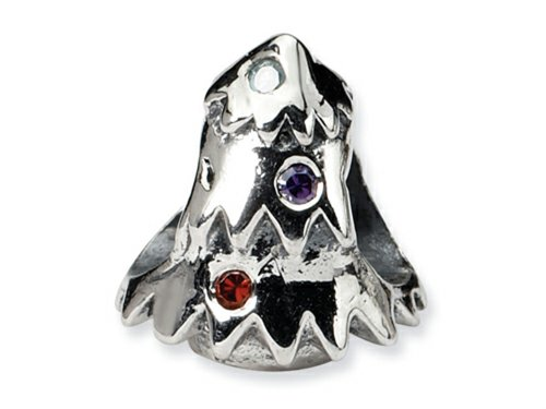 Reflections Sterling Silver Christmas Tree Bead / Charm