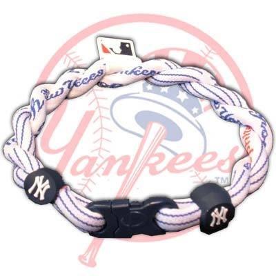 Phiten Tornado MLB X30 Bracelets - New York Yankees