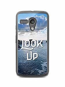 YuBingo Look Up Designer Mobile Case Back Cover for Motorola G