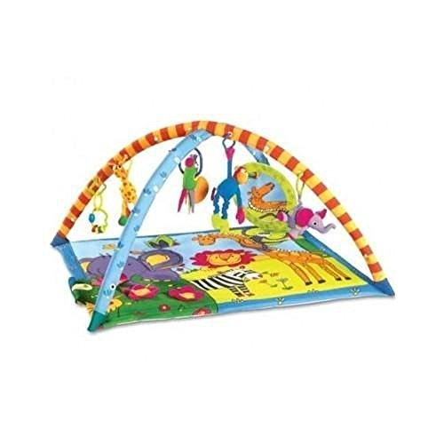 Lovely Kids New Tiny Love Super Deluxe Lights Music Gymini Activity Gym Playmat Baby Toy front-775559