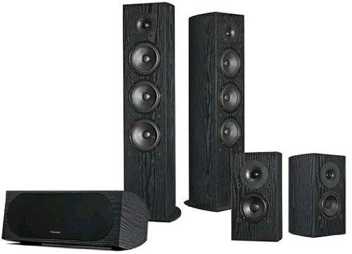 Pioneer SP-PK52FS Andrew Jones 5.0 Home Theater Speaker Package