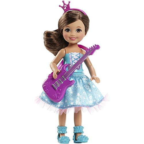 Barbie in Rock 'N Royals Purple Pop Star Chelsea Doll - 1