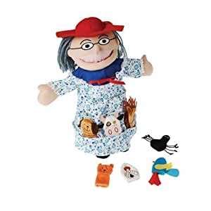 There Was an Old Lady Who..Puppet Set