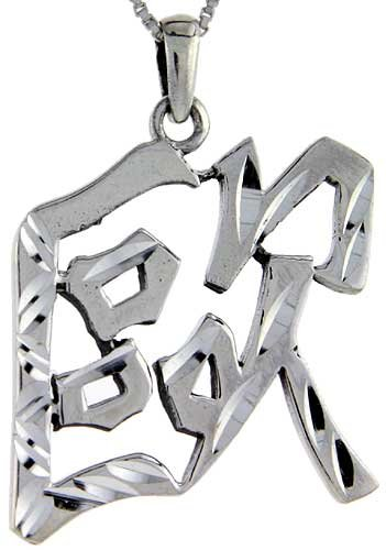 Sterling Silver Chinese Character for AUR Family Name Charm