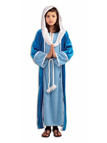 Biblical Virgin Mary Kids Costume