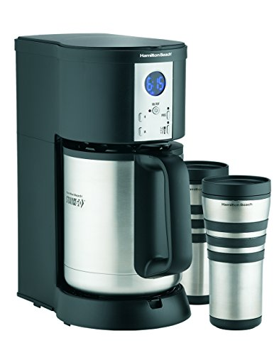 Best Coffee Maker With Insulated Carafe : Hamilton Beach Coffee Maker Stay or Go Digital with Thermal Insulated Carafe 40094452378 eBay