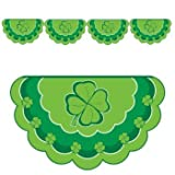 St Patrick s Day Shamrock Paper Bunting 4 Flags