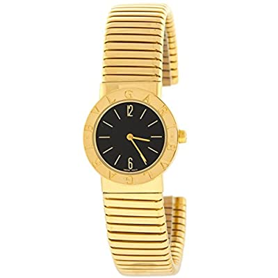 Bvlgari Tubogas BB232TG 18K Yellow Gold Quartz Women's Watch