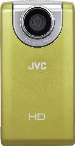 JVC Picsio GC-FM-2 Pocket Video Camera (Yellow) NEWEST VERSION