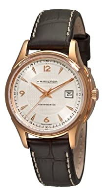 Hamilton Men's H32645555 Jazzmaster Pink-tone Case Watch