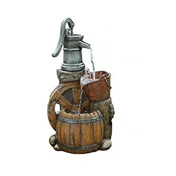 Old Fashion Pump Barrel Fountain