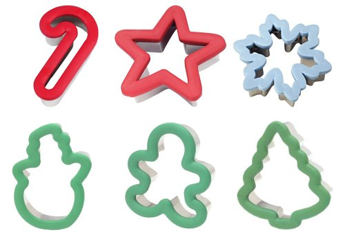 Wilton Holidays Comfort Grip Cookie Cutter 6 Piece Set