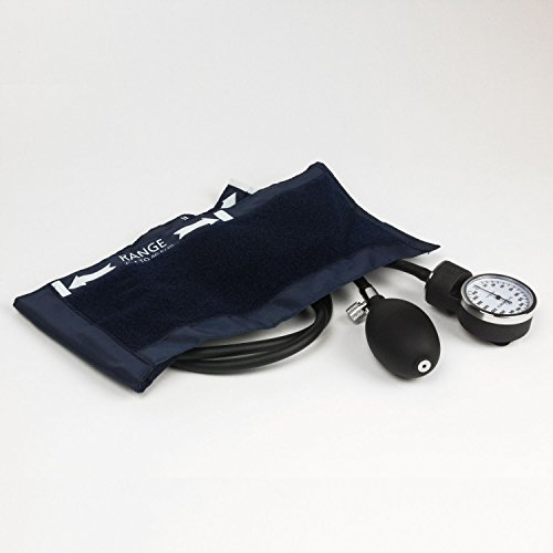 Dixie EMS Deluxe Aneroid Sphygmomanometer Blood Pressure Cuff