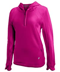 CLOSEOUT Russell Athletic Women's Pro-Cotton Fleece 1/4 Zip Pullover Hood