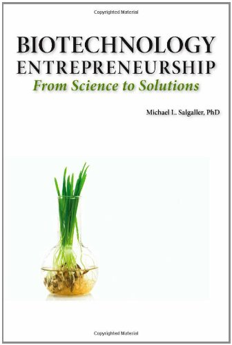 Biotechnology Entrepreneurship From Science to