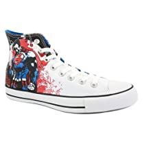 Buy Cheap Converse Chuck Taylor DC Comics Unisex Laced Canvas Trainers uk