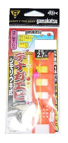 がまかつ(Gamakatsu) テナガエビ仕掛(シモリウキ)2.7M TS101 2号-ハリス0.4