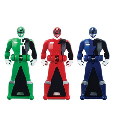 Power Rangers Super Megaforce - SPD Legendary Ranger Key Pack, Red/Blue/Green (All Red Ranger Keys compare prices)