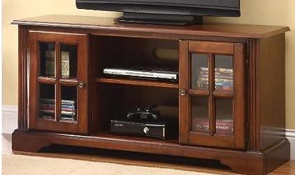 Acme Chic ModernCherryFinish TV Stand