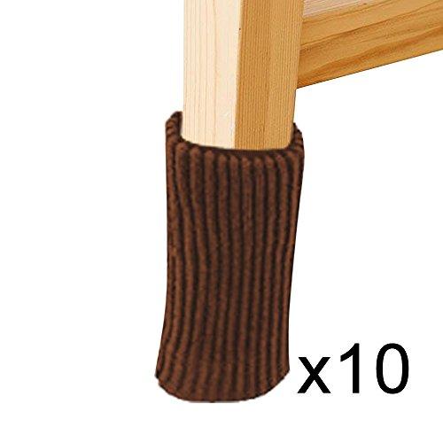 Yutaoz Furniture Leg Floor Protectors Table Legs Cover