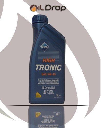 Aral 5W-40 High Tronic - 1 Liter 5W40 Motoröl