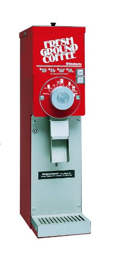 Grindmaster-Cecilware 875S-R 875 Grinder with ETL Sanitation Listing, Red