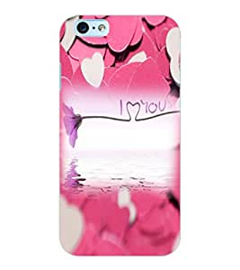ColourCraft Love Design Back Case Cover for APPLE IPHONE 6