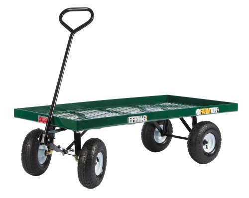 Farm Tuff Metal Deck Wagon 24-Inch by 48-Inch GreenB0000AX6NJ