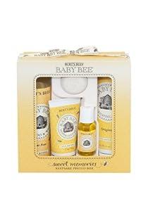 Burt's Bees Baby Bee Sweet Memories 小蜜蜂婴儿甜蜜回忆五件套$15.19