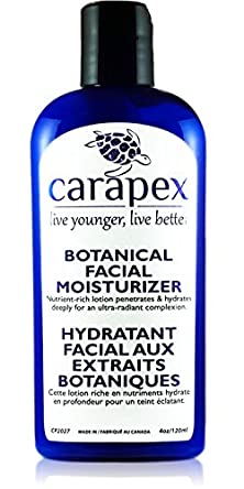 buy Face Cream Hydrating, Moisturizing, Carapex Botanical Facial Moisturizer, Natural, Unscented For Sensitive Skin, Dry Skin, Combination Skin, Oily Skin, With Hyaluronic Acid, Vitamin E, Day And Night Moisturizer, Anti Age, Face Plumping Cream With Shea But