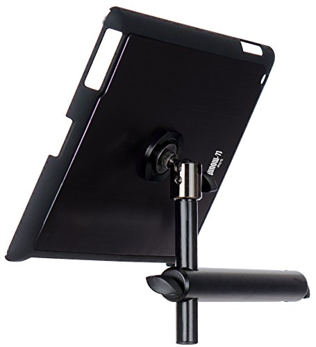 On Stage TCM9160 Tablet Mount with Snap-On Cover for iPad 2/3/4, Black