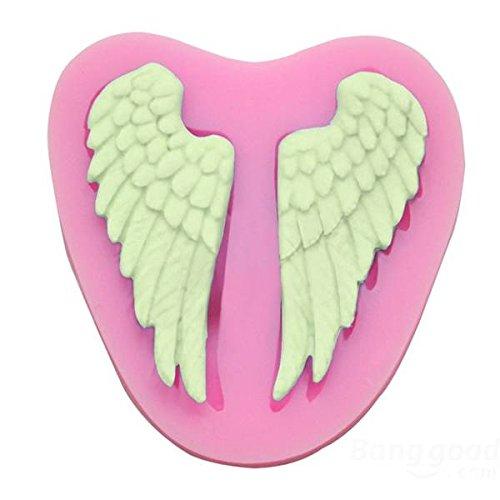 Envoi-Gratuit-Angel-Wings-de-moule-dargile-polymre-chocolat-moule-Silicone-Fondant-Angel-Wings-Silicone-Fondant-Mold-Chocolate-Polymer-Clay-Mould