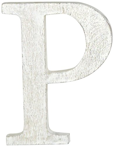 Mud Pie Wood Block Initial-P