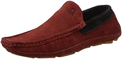 United Colors Of Benetton Men's Leather Loafers and Mocassins - 8 UK/India (42 EU)