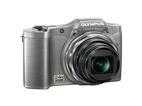 Olympus SZ-14 Silver 14 Megapixel 24x Wide Angel Zoom Digital Camera (Silver)