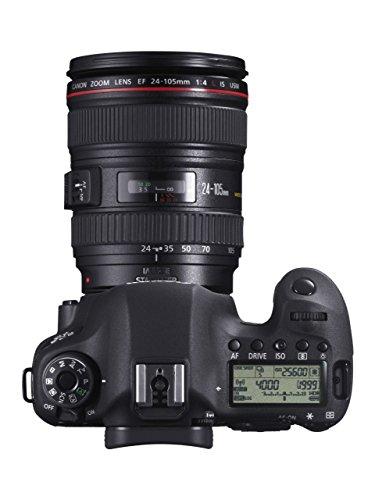 Canon-EOS-6D-Fotocamera-Reflex-Digitale-202-Megapixel-con-Obiettivo-EF-24-105mm-L-IS-USM-Nero