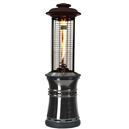 Lava Heat 51,000 BTU Outdoor Patio Propane Heater With Exclusive Spiral  Flame In A Borosilicate Glass Tube, ...