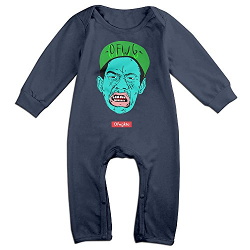 OLGB Babys Tyler OFWG Hip Hop Long Sleeve Romper Bodysuit 24 Months (Goblin Outfit)