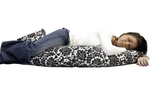 Luna Dream Full Body Pillow, Dynasty Black